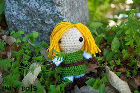 link legend of zelda amigurumi