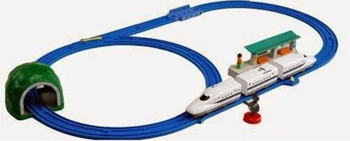 Bộ Tàu hỏa N700A Shinkansen Basic Set sinh động