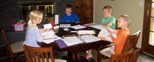 everyday life classical homeschooling