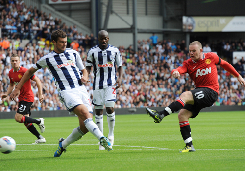 Wayne Rooney, West Bromwich - Manchester United