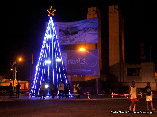 La gare centrale de Kinshasa lors de la célébration de festivités de fin d'année 2012. Radio Okapi/Ph. John Bompengo