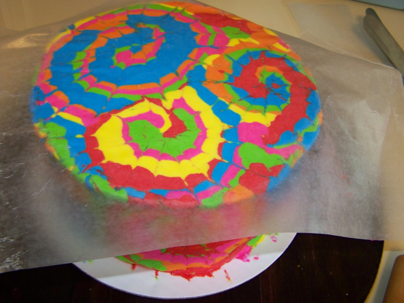 Cakes by Kristen H.: Groovy Tie Dye cake