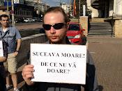 Suceava moare! De ce nu vă doare? - Protest împotriva distrugerii spaţiilor verzi din Suceava