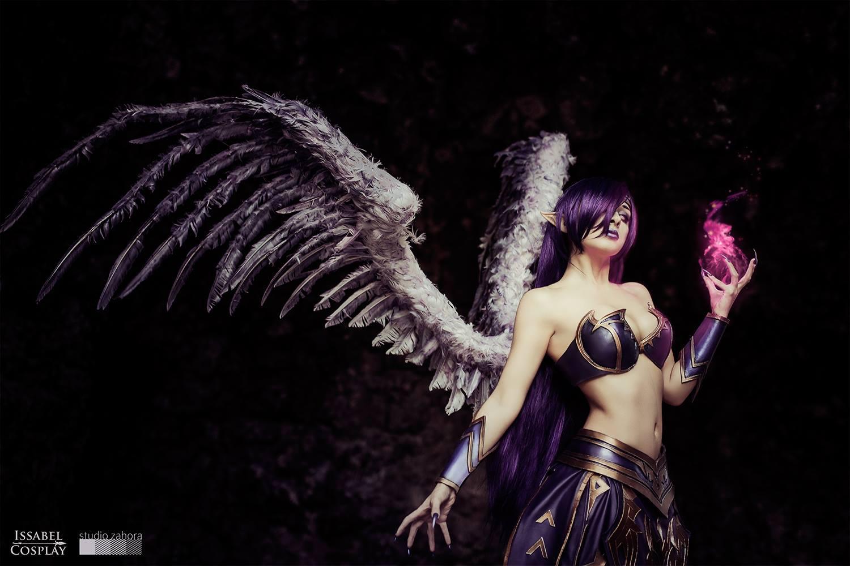 Ngắm thiên thần sa ngã Morgana cực sexy - Ảnh 4