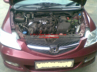 CNG KIT SEQUENTIAL IN HONDA CITY GXI