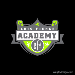 Eric Fisher Academy logo design Wichita KS.