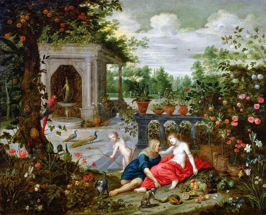Hendrick van Balen - Vertumnus und Pomona