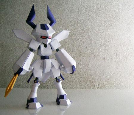 Medabots Rokusho Papercraft