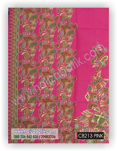 Grosir Batik, Kain Batik Murah, Baju Batik Modern, CB213 PINK