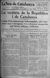 La Veu de Catalunya, 25 juliol 1936