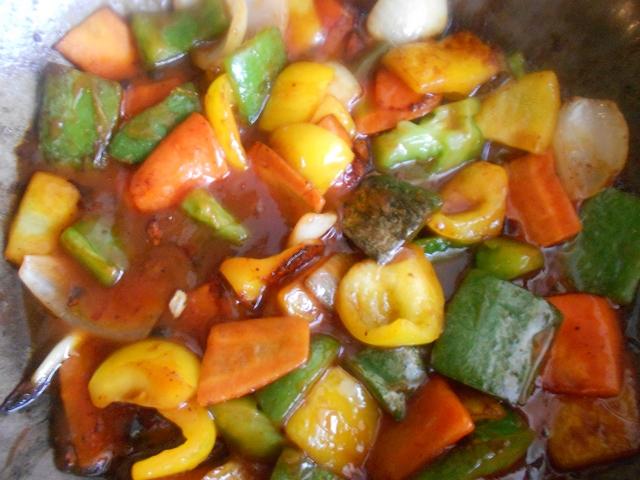 Китайская кухня: рыба в кисло-сладком соусе