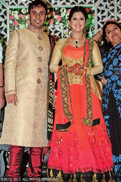 Singer Ranjini Jose and Ram Nair's wedding reception at a popular venue in the city was a grand affair with many celebs from the film and music industry attending the do.