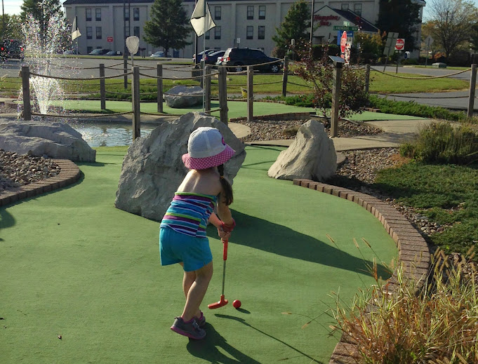 Mini-Golf at the Golf Shores Fun Center in Corydon, Indiana