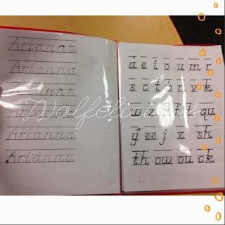 Photo of Wolfelicious Handwriitng Practice