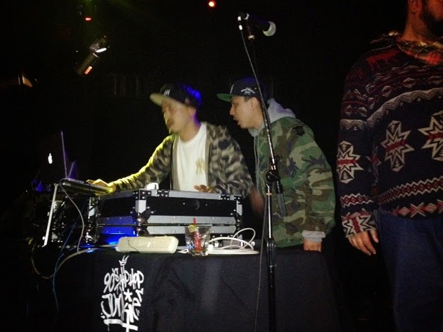 DJ Scratch Nice, DJ Cutbird, Dallas Penn @DROM - Biggie-Jay-Nas Party
