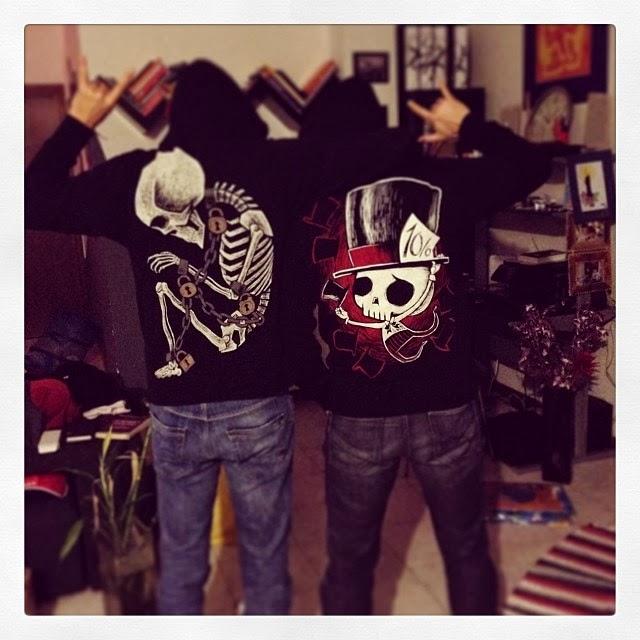 akumuink, mad hatter hoodie, skull mad hatter, skeleton hoodie, skeleton shirt, goth shirt, alternative style, punk hoodie