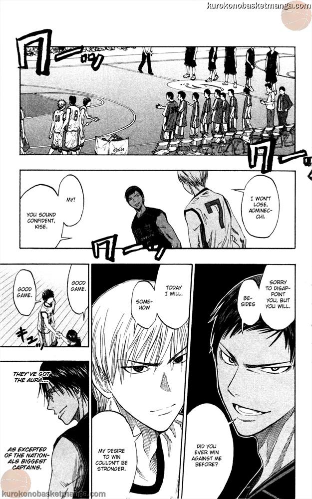 Kuroko no Basket Manga Chapter 63 - Image 17