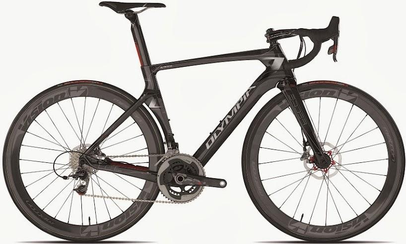 Ciclismo Olympia Presenta Leader Bici Da Strada Nata Per I Freni A