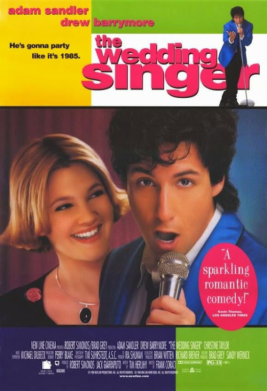 Poster Of The Wedding Singer (1998) Full Movie Hindi Dubbed Free Download Watch Online At alldownloads4u.com