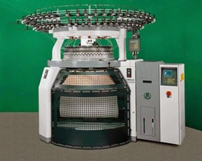 Máquina circular de doble fontura