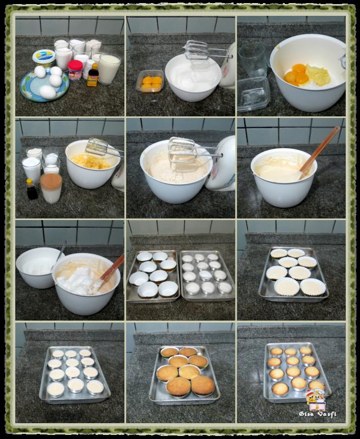 Cupcake de fécula de batata 3