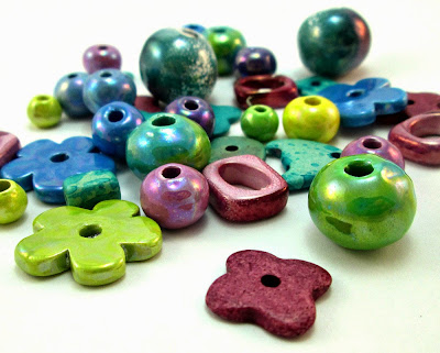 Greek Ceramic Beads from O and N Craft Supplies