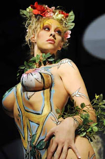 Beautiful Body Painting Pictures - Bullet 4 Peace