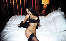 lingerie brunettes boobs women beds models pillows jessica jane clement black panties 1600x1000 w Wallpaper