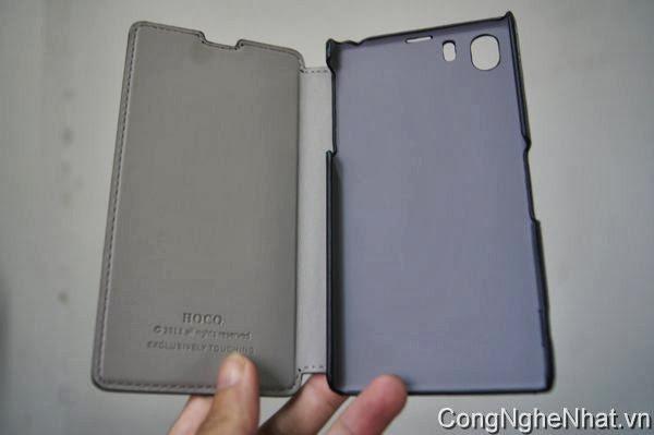 Bao da cao cấp cho Sony Xperia Z1 (SO-01F) HoCo