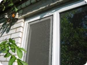Антимоскитная сетка на окна