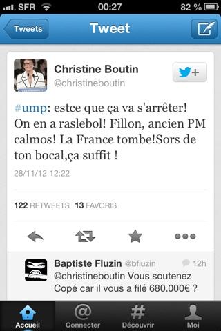Christine Boutin lâche la rampe