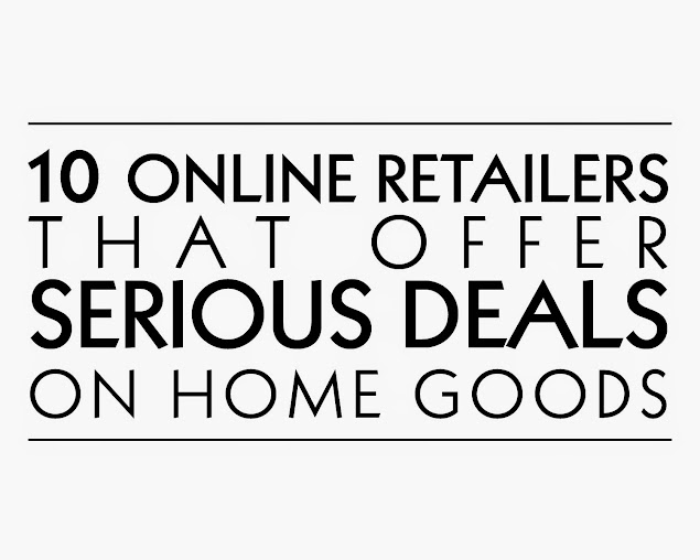 10 online retailers that offer serious deals on home goods - Home Decor Online Stores