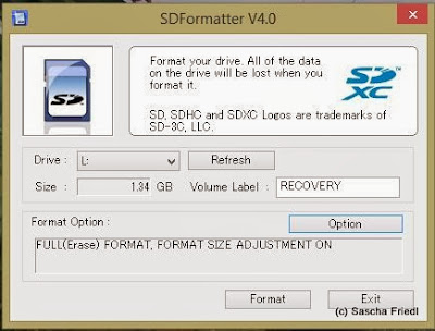 SD-Formater