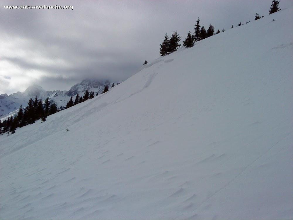 Avalanche Belledonne, secteur Montagne des 7 laux - Photo 1
