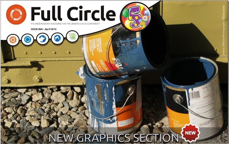 Full circle Magazine Issue 60