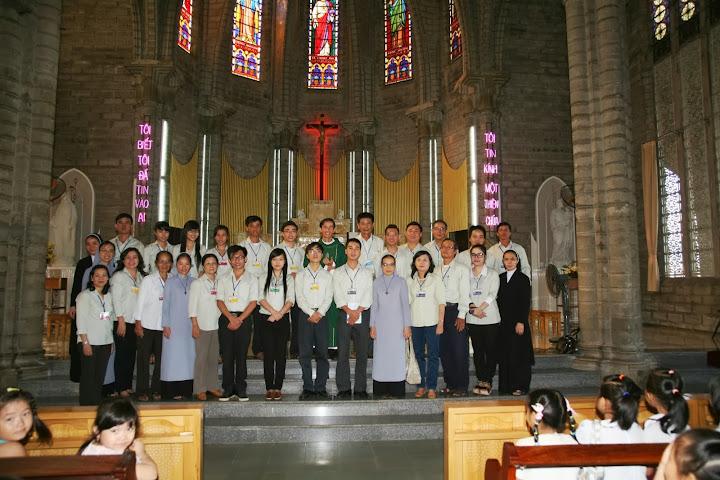 Giáo Xứ Chánh Tòa lễ khai giảng năm học Giáo lý 2013-2014