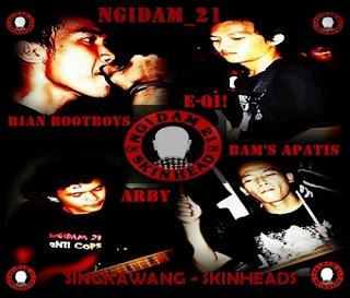 Ngidam 21 - Singkawang Skinhead Punk - Pakaw