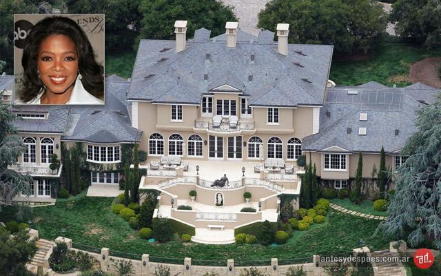 La casa de Oprah
