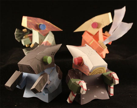Marfusha Paper Toy