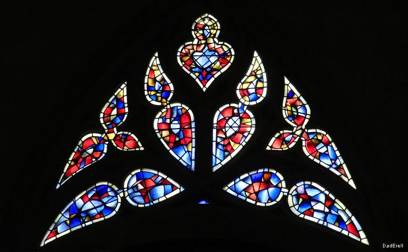 Vitrail de l'église Saint Aspais à Melun