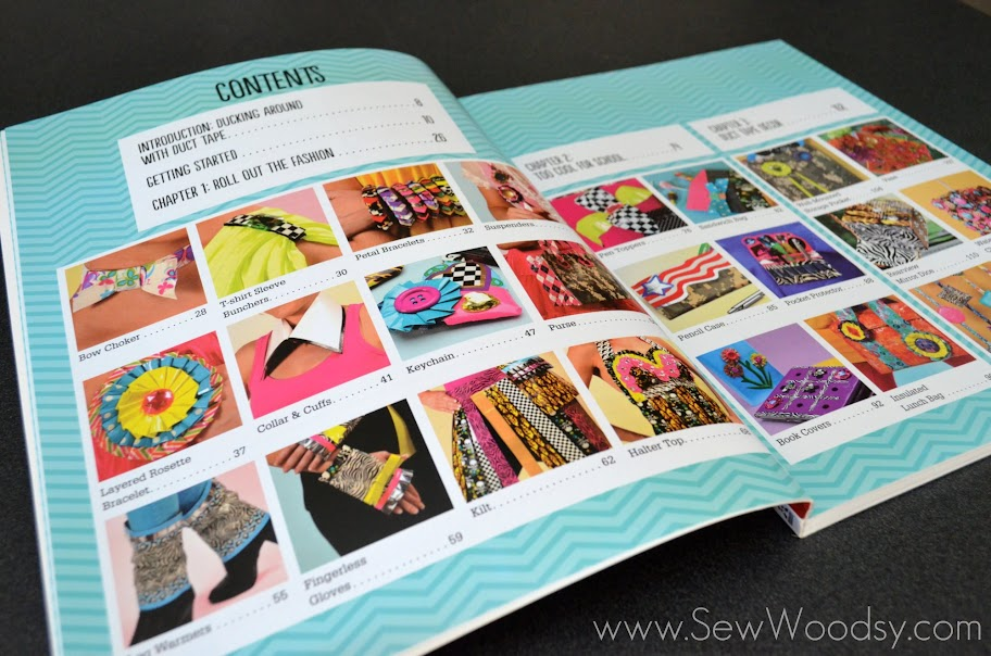 Crazy-Cool Duct Tape Projects Book Review