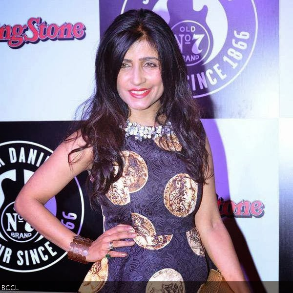 Shibani Kashyap during Rolling Stone awards, held in Mumbai. (Pic: Viral Bhayani)