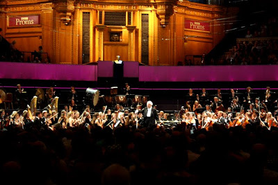 Sir Colin Davis and the Gustav Mahler Jugendorchester at Royal Albert Hall for the Proms