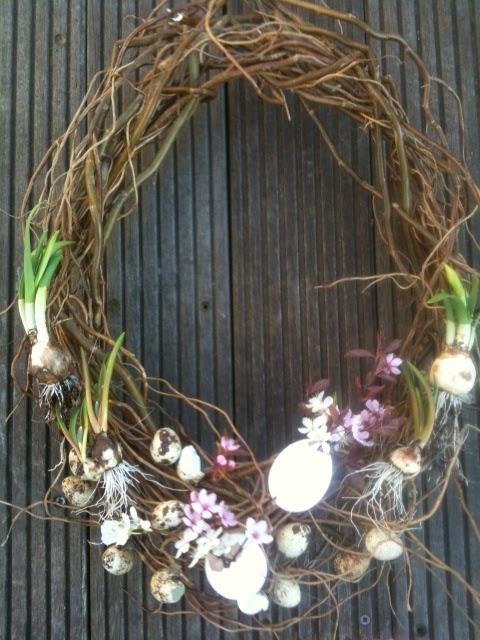 Zelf een voorjaarskrans maken
