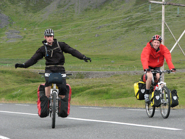 Look mum, no hands!
