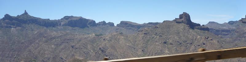 Das Bergland von Gran Canaria, in der Nähe von Tejeda