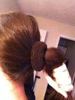 hair doughnut how to