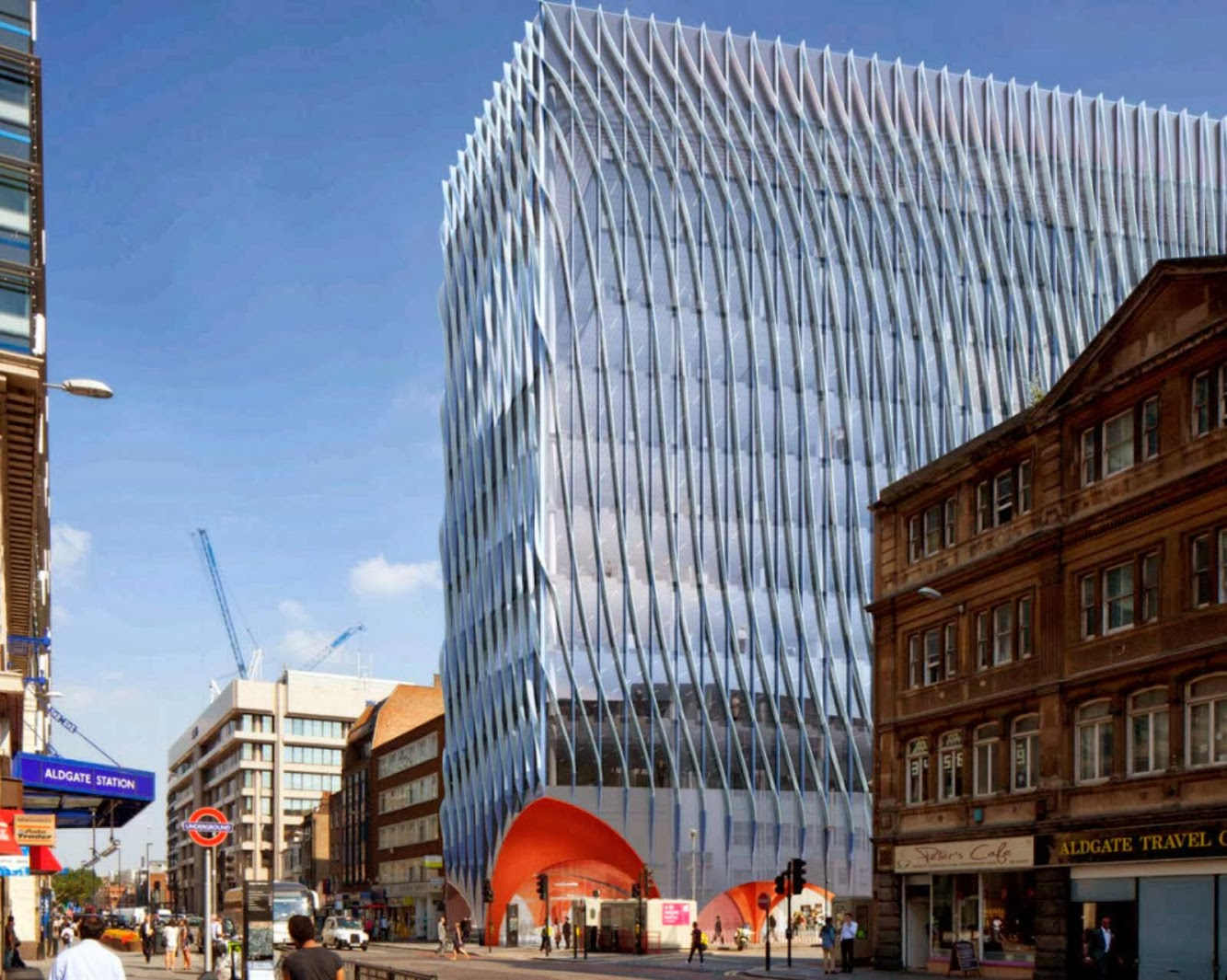 Londra, Regno Unito: Minories Redevelopment by Acme