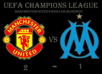 Manchester United Champions League, Man Utd vs Marseille