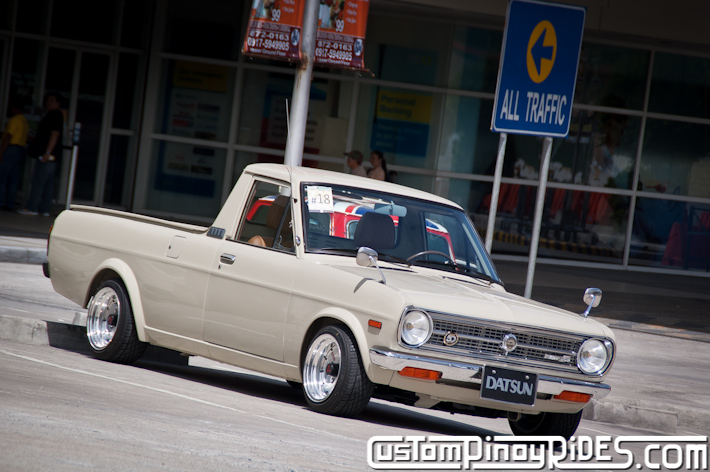 Richard Opiana 1991 Nissan Sunny Truck Custom Pinoy Rides Car Photography pic2